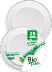 Piatti per Pizza Biodegradabili BioTable (10 Pezzi) - vendita online all'ingrosso b2b