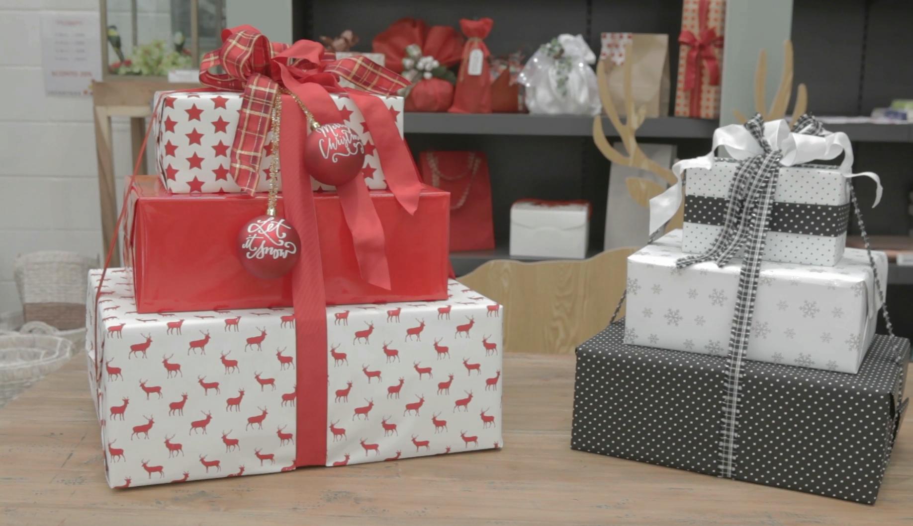 Come Fare Pacchetti Natalizi incartare delle scatole per creare pacchetti regalo - idee e