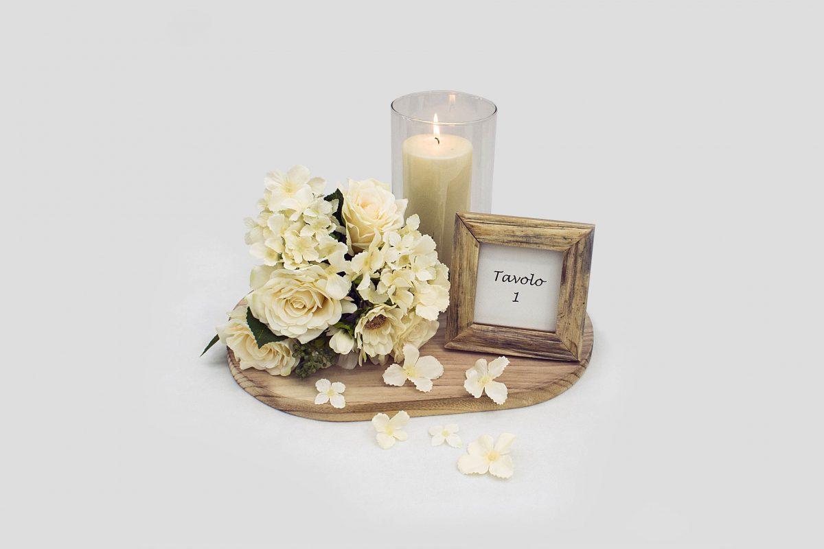 Centrotavola romantico per matrimonio fai da te incartare - Portacandele fai da te ...