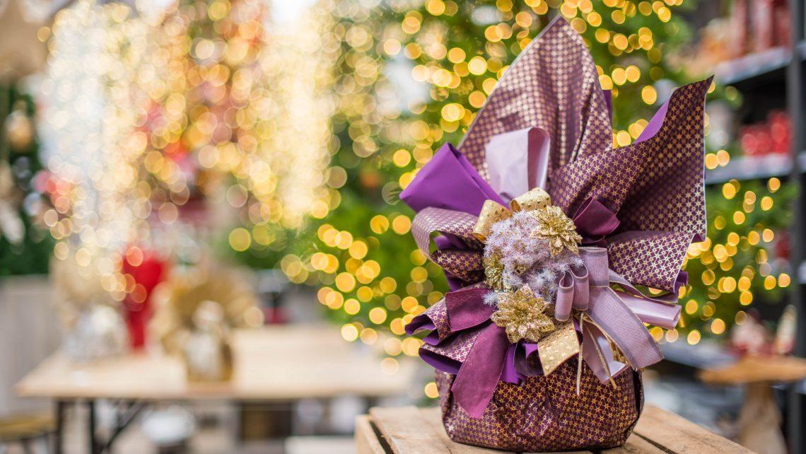 Confezioni natalizie per panettone