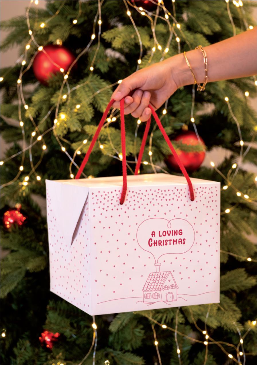 a loving christmas rendering_scatole panettone artigianale